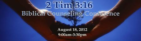 2TIM 3:16 - Houston's Biblical Counseling Conference