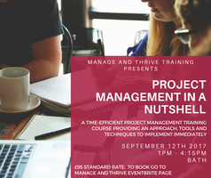 Project Management in a Nutshell: Approach, tools and...