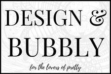 Design and Bubbly Workshops logo