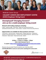 Employer Hiring Event