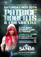 Patrice Roberts Live at Sobs