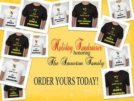 PREPPER TSHIRT CAMPAIGN HONORING THE SNOWTONS!