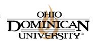 Ohio Dominican University logo