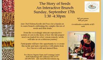 The Story of Seeds: An Interactive Brunch