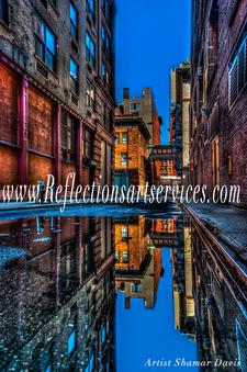 Reflections Art Services logo