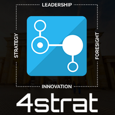 4strat in Cooperation with Kedge logo