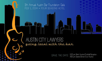 Austin Bar Foundation's 2014 Gala - Four Seasons Hotel