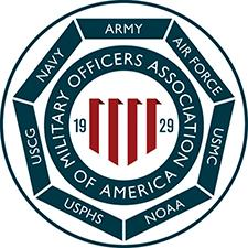 Sandhills Chapter of Military Officers Association of America logo