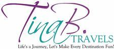 TinaB Travels & Live Life Half Price logo