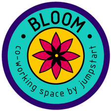 BLOOM co-working space by jumpstart logo