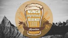 Nunca Empreendi Bebendo Leite Mountain logo