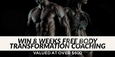 Win 8 Weeks Free Online Body Transformation Valued at...
