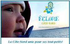 Éclore Côte-Nord logo