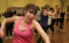 Bristol Dance Zumba Classes - with Marie logo
