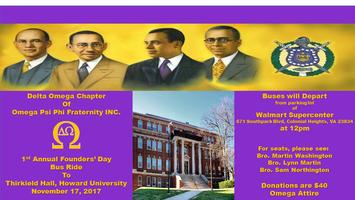 1st Annual Founders' Day Bus Ride