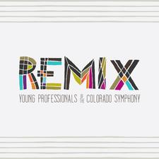 Remix Young Professionals of the Colorado Symphony logo