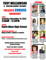 Choices Workshop for Middle School Students and Parents
