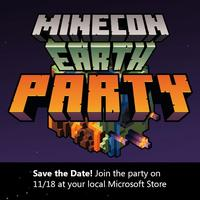 Block Party! MINECON Earth Viewing Party at Microsoft...