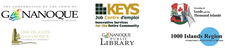 Business Support Network  (a partnership of the Township of Leeds and the Thousand Islands, the Town of Gananoque, Keys Job Centre, the 1000 Islands-Gananoque Chamber of Commerce, the Ganaoque Library and the 1000 Islands Region Workforce Development logo