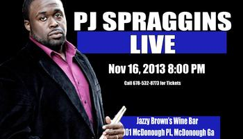 James P.J. Spraggins Live at Jazzy Brown's