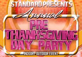 Fresno Thanksgiving Eve Party - The Standard