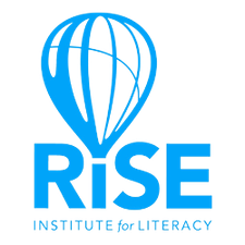 RISE Institute for Literacy logo