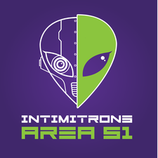 The Intimitrons from AREA 51 logo