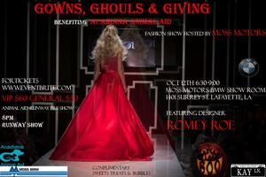 Gowns, Ghouls & Giving