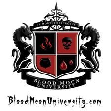 Blood Moon University logo
