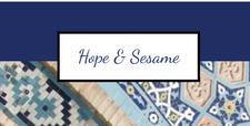 Hope & Sesame (Julie van de Zande, Laurie Orman and Robert Mayberry) logo