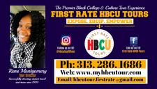 First Rate HBCU Tours logo