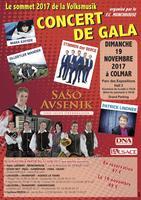 Gala de Colmar Volksmusik le Dimanche 19 novembre 2017...
