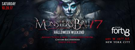 The Monster Ball - NYC's Biggest Saturday Night...