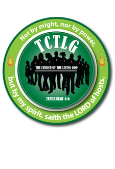 The Church of the Living God logo