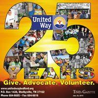 United Way of Bedford County logo