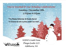 The Studio Mind.Body.Soul Holiday Celebration!