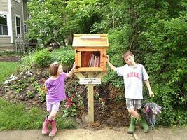 Parent/child workshop: Build a Little Free Library