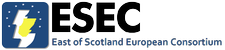 East of Scotland European Consortium logo