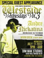 Westside Wednesdays Vol.3 (Andre Nickatina, Tony...