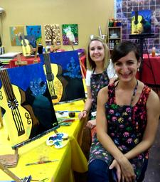 Creole Canvas Mobile Painting Parties! logo