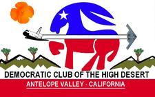 Democratic Club of the High Desert  logo