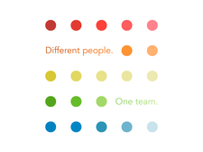 DfT Inclusion Month 2017 - Different People. One Team. logo