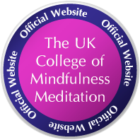 The UK College of Mindfulness Meditation - A,Colley Licensee logo