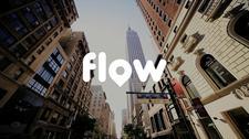 FLOW, de duurzame Mobility as a Service-startup logo