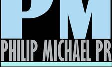 PHILIP MICHAEL PR logo