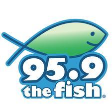 95.9 The Fish logo