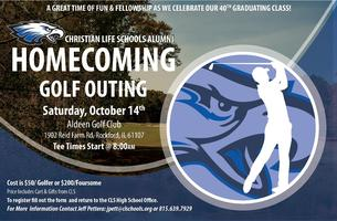 Christian Life Schools Alumni Homecoming Golf Outing