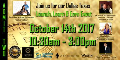 Official Bitcoin Gold and Silver - Dallas Launch Event