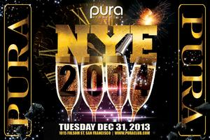 PURA CLUB NEW YEAR'S EVE 2014