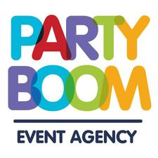 Party Boom event agency logo